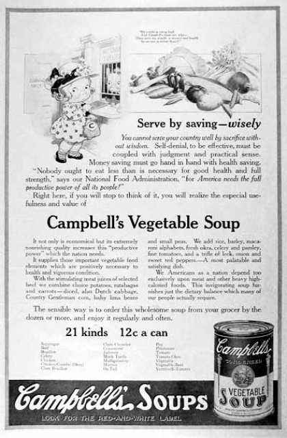 Campbell's Soup (1918)