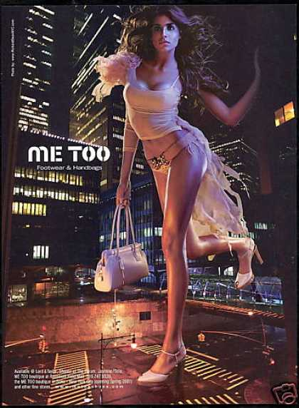 Me Too Shoes Purse Sexy Woman New York Photo (2001)