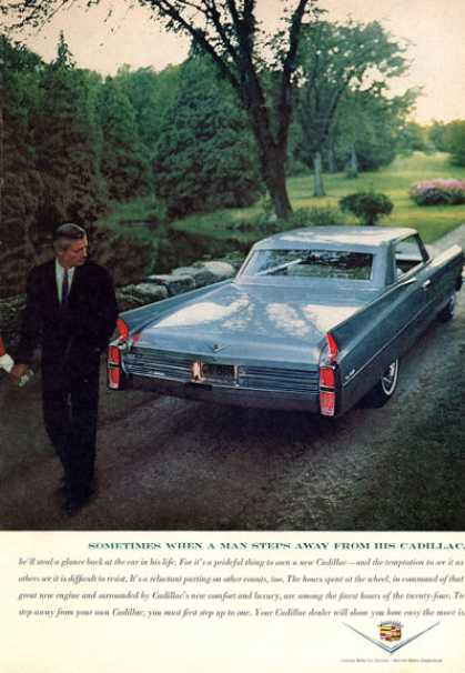 Cadillac Step Away From Your Cadillac (1963)