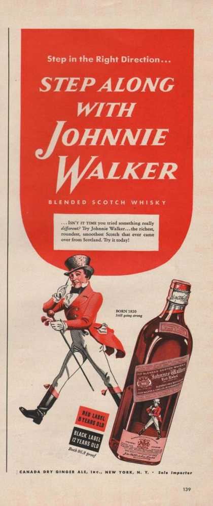 Step Along With Johnnie Walker Whisky (1942)