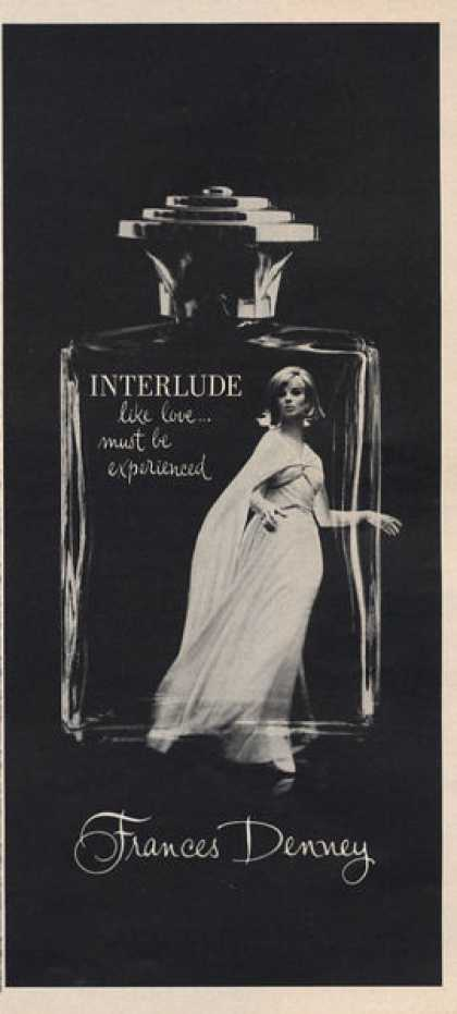 Interlude Frances Denney Perfume Bottle (1966)