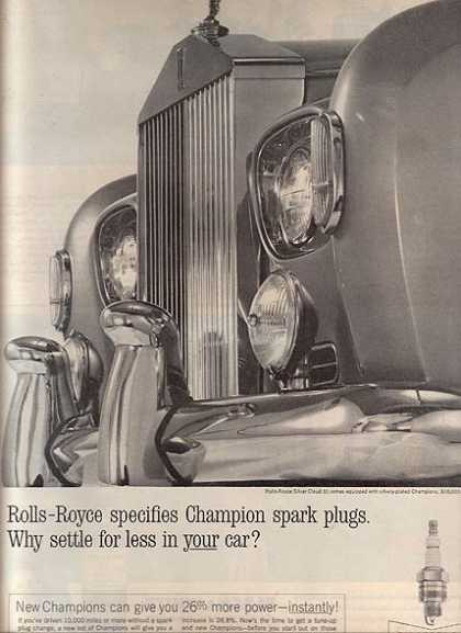 Champion's if the best use (1963)