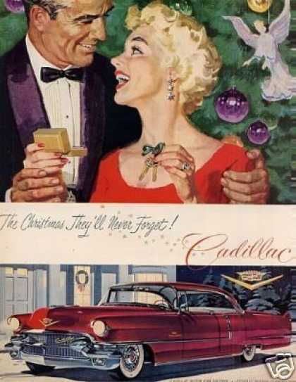 "Cadillac Car Ad ""The Christmas They'll... (1956)"