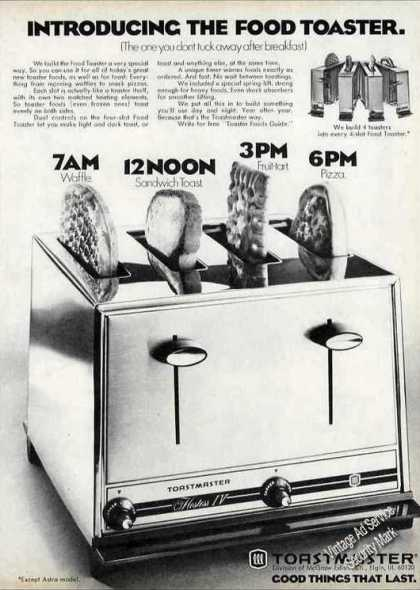 "Toastmaster ""Introducing the Food Toaster"" (1971)"