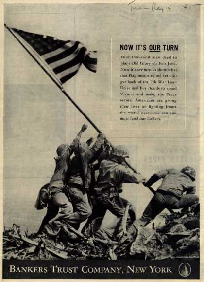 Bankers Trust Company's 7th War Loan – Now It's Our Turn (1945)
