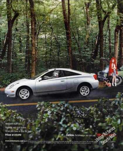 Toyota Celica Clever Little Red Riding Hood (2001)