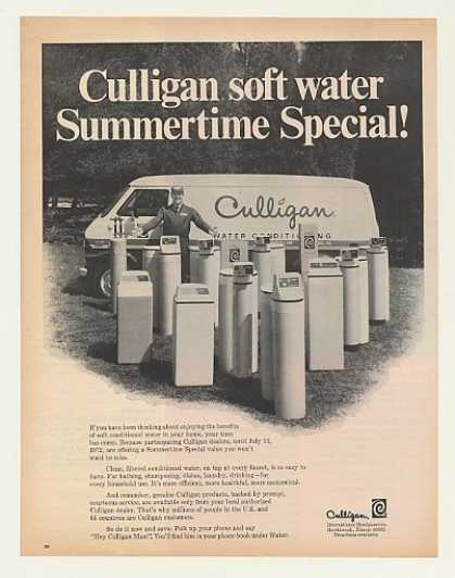'72 Culligan Water Softener Man Truck Summer Special (1972)