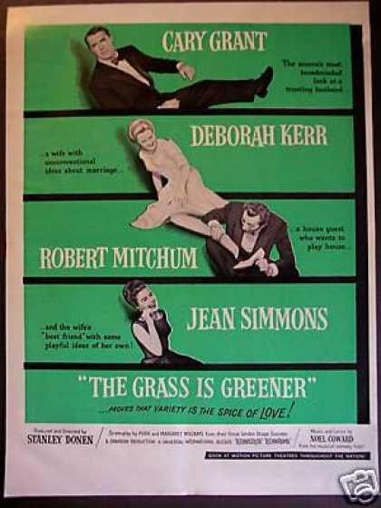 "Cary Grant ""The Grass Is Greener"" Movie Promo (1960)"