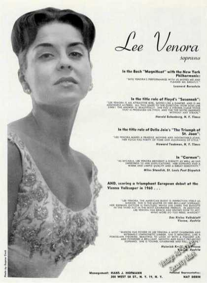 Lee Venora Photo Opera Trade (1961)