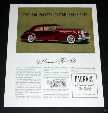 Packard Custom One-eighty (1939)