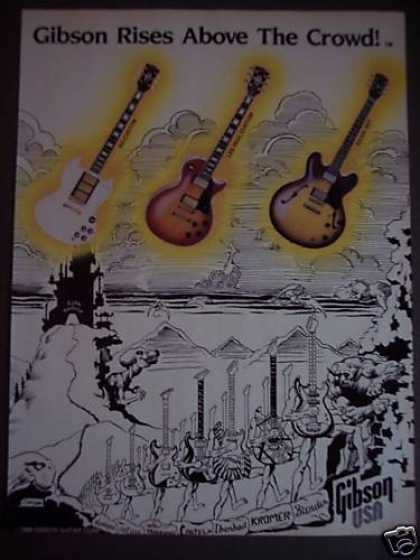 Gibson Guitars Les Paul, Sg-custom Music Art (1988)