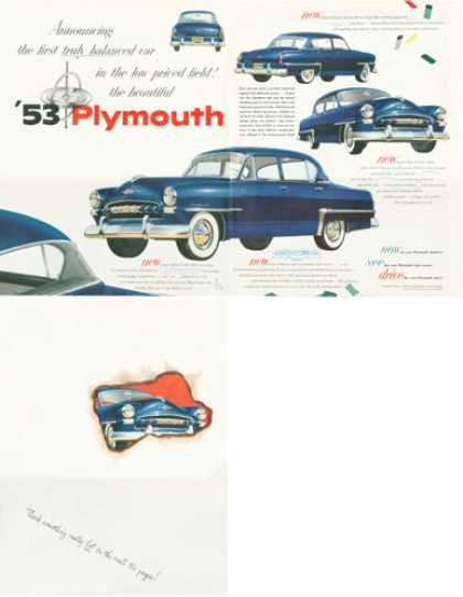 Plymouth Cranbrook (1952)