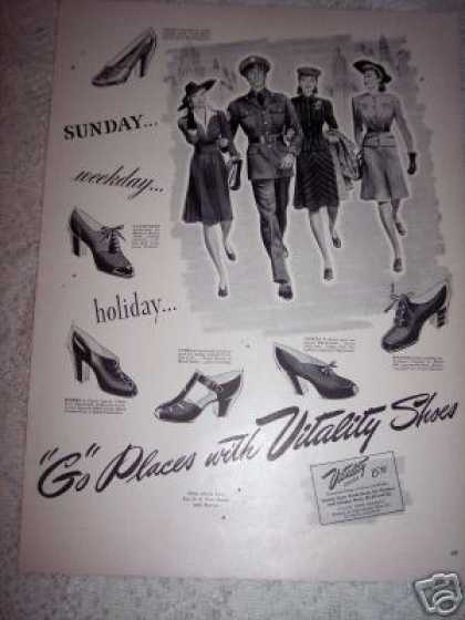 Vitality Womans Shoes Original (1942)