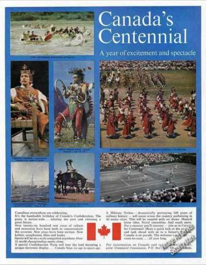 Canada's Centennial Nice Photos Travel (1967)