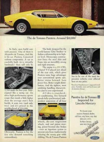 The De Tomaso Pantera Photos (1972)