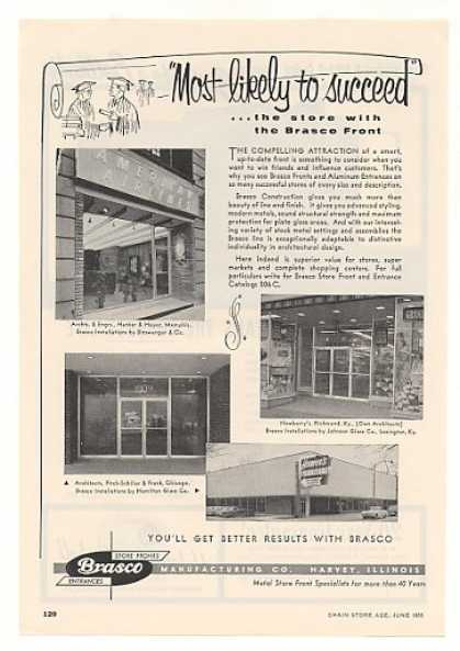 American Airlines Memphis Brasco Store Fronts (1955)