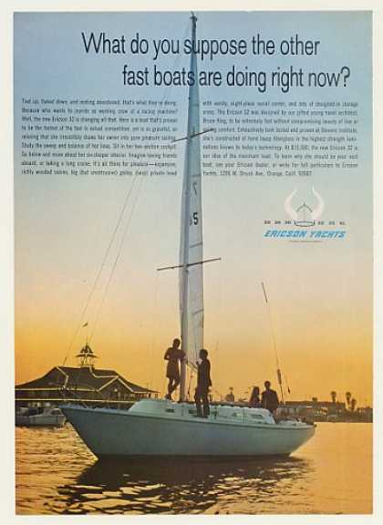 Ericson 32 Yacht Boat Photo (1969)