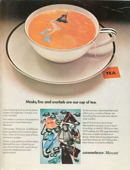 Seamless Nemrod Diver Snorkle Cup of Tea (1972)