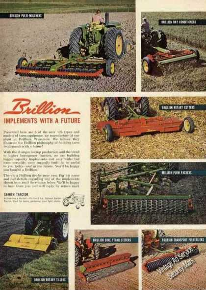 Brillion Farm Implements Photos (1963)