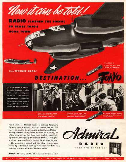 Admiral Corporation's Radio – Now it can be told (1944)