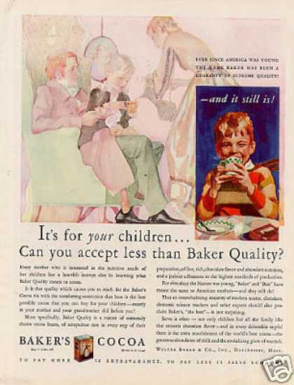 Baker's Cocoa Color (1929)