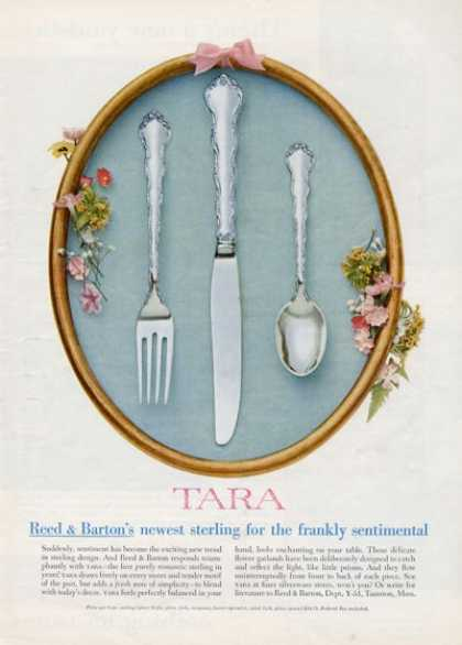 Reed &amp; Barton Tara Pattern Silverware (1955)