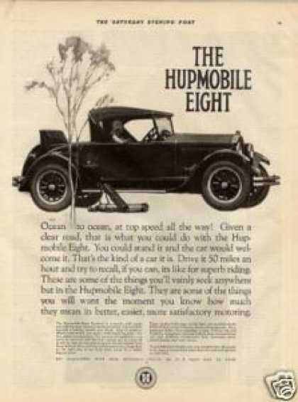 Hupmobile Eight Car (1925)