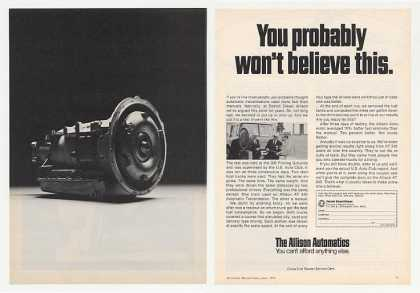 '74 Detroit Diesel Allison Automatic Transmission 2P (1974)