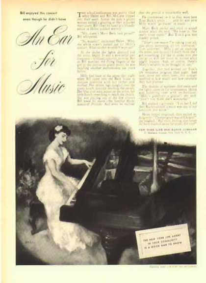 New York Life Insurance – An Ear for Music (1949)