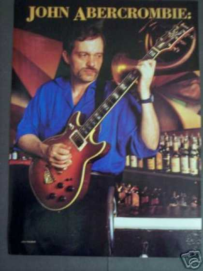 Andy Freeberg Photo of Guitarist John Abercrombie (1986)