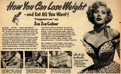 Carlay Company, Incorporated's Ayds – How You Can Lose Weight -and Eat All You Want (1953)
