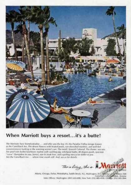 Marriott Camelback Inn Photo Travel (1967)