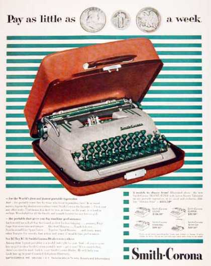 Smith Corona Typewriter (1955)