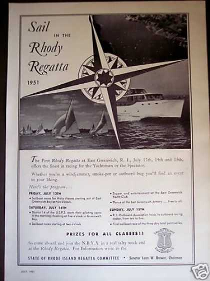 East Greenwich Ri Rhody Regatta Boat Race (1951)