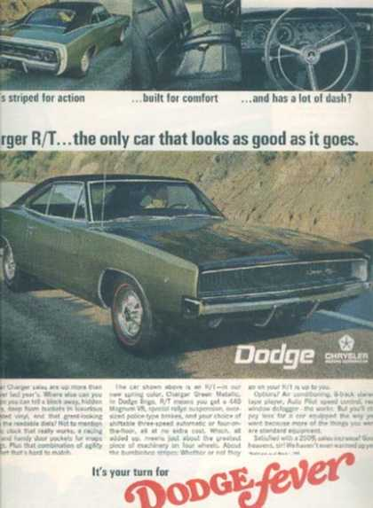 Chrysler's Charger (1968)