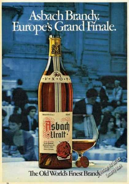 Asbach Brandy Europe's Grand Finale (1979)