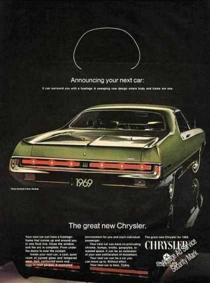 Chrysler Green Three Hundred 2-door Hardtop (1969)