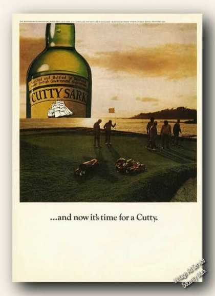 Cutty Sark Golf Theme Now It&#8217;s Time Promo Scotch (1975)