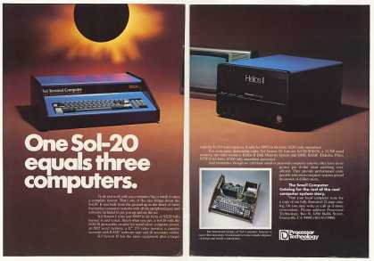 Processor Technology Sol-20 Computer (1977)