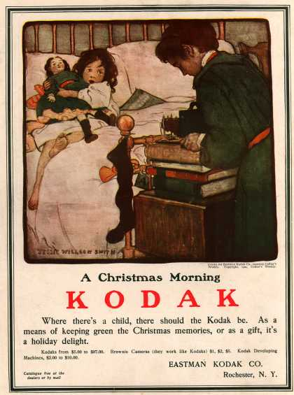 Kodak &#8211; A Christmas Morning Kodak (1904)