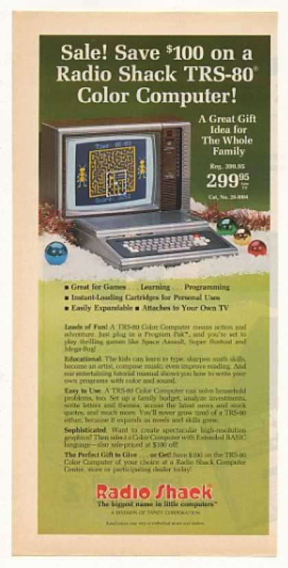 Radio Shack TRS-80 Color Computer (1982)