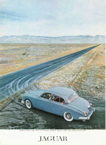 Jaguar 3.8 Luxury Sports Sedan (1959)