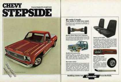 Chevrolet Stepside Pickup Truck (1974)