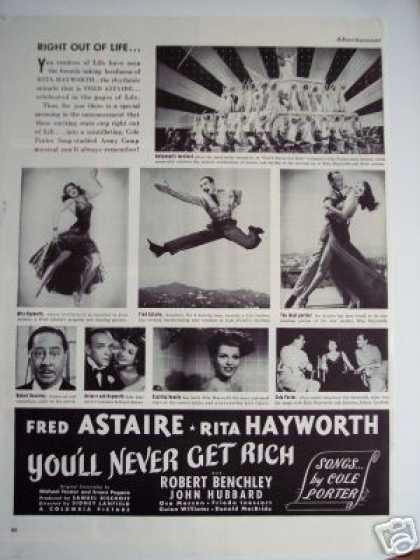 Fred Astaire You'll Never Get Rich Movie Promo (1941)