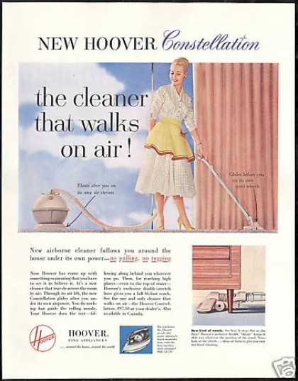 Hoover Constellation Vacuum Cleaner Photo (1956)