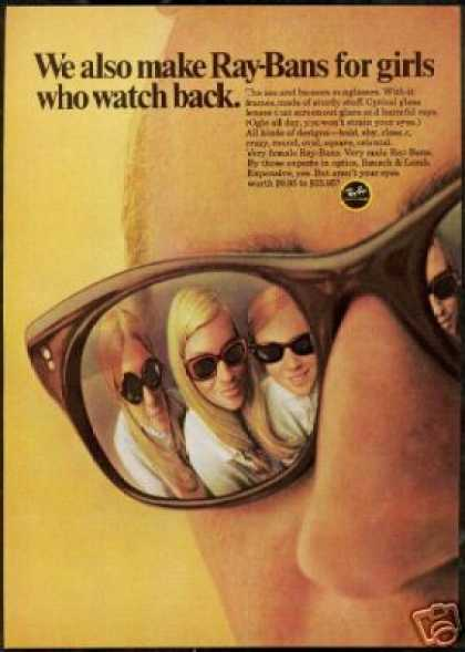 Ray Ban Sunglasses See & Be Seen Photo (1968)