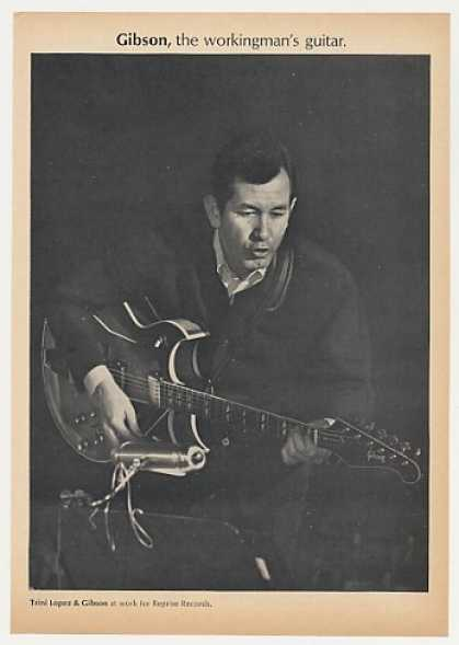 Trini Lopez Gibson Guitar Photo (1968)