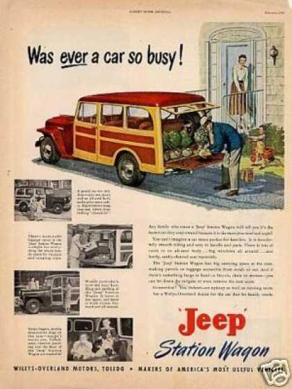 Willys Jeep Station Wagon (1949)