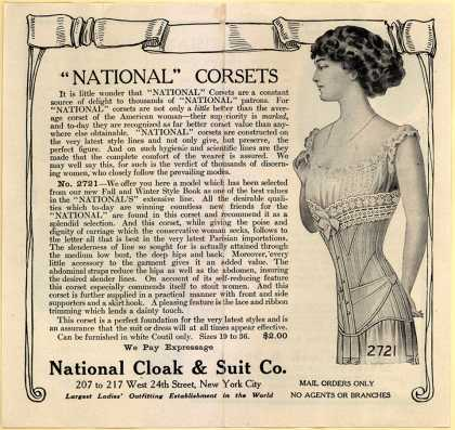 National Cloak and Suit Co.'s clothes – National Style Book and Samples