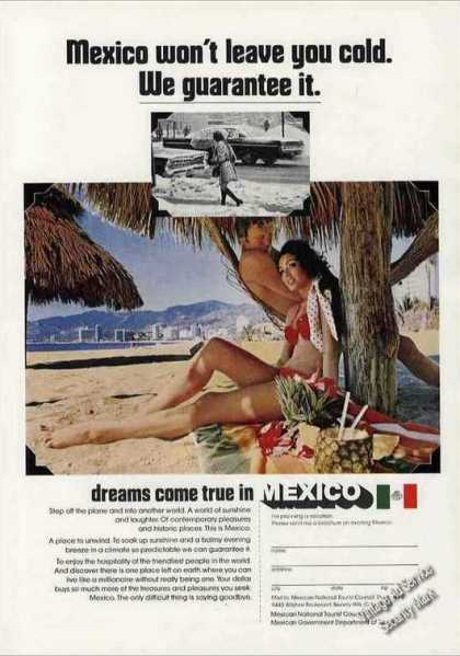 """Dreams Come True In Mexico"" Travel (1972)"